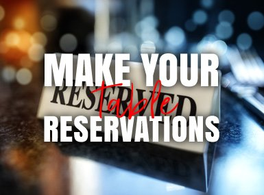 Make Your Table Reservation